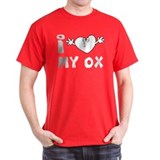 I Love My Ox T-Shirt