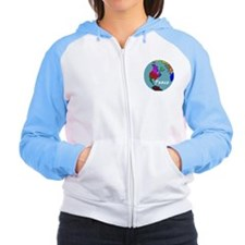 World Peace, Liberal Values Women's Raglan Hoodie