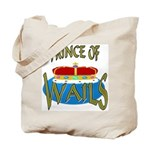 Baby Shower Prince Tote Bag