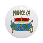 Baby Shower Prince Keepsake (Round)
