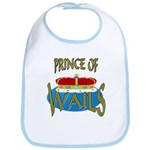 Baby Shower Prince Bib
