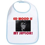 Ed Wood Is My Savior Baby Bib