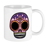 Day of the Dead Sugar Skull Small Mugs