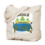 Baby Shower Princess Tote Bag