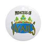 Baby Shower Princess Keepsake (Round)