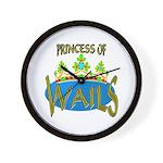 Baby Shower Princess Wall Clock