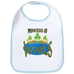 Baby Shower Princess Bib