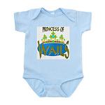 Baby Shower Princess Infant Creeper