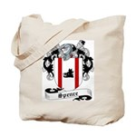 Spence Family Crest Tote Bag