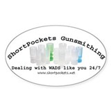 ShortPockets Gunsmithing Oval Decal