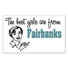 Best Girls Fairbanks Rectangle Decal