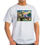 St Francis/Cavalier Trio Light T-Shirt