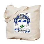 Steadman Family Crest Tote Bag
