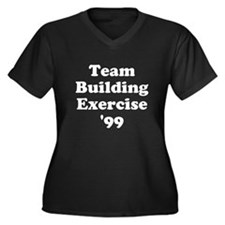 Team Building Exercise '99 Women's Plus Size V-Nec