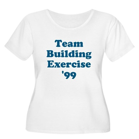 Team Building Exercise '99 Womens Plus Size Scoop