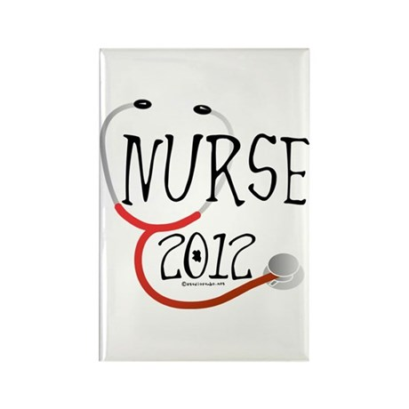 Nurse 2012 Rectangle Magnet (100 pack)