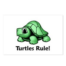 Turtles Rule! Postcards (Package of 8)
