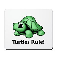 Turtles Rule! Mousepad