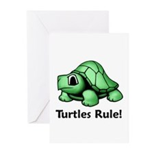 Turtles Rule! Greeting Cards (Pk of 10)
