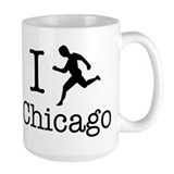 I Run Chicago Mug