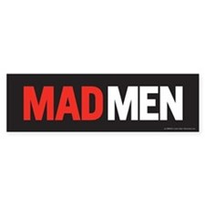 Mad Men Bumper Car Sticker