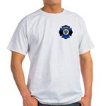Fire Chief Gold Maltese Cross Light T-Shirt