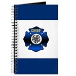 Fire Chief Gold Maltese Cross Journal