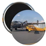 "Piper Cub and B-25 Mitchell 2.25"" Magnet (10 pack)"