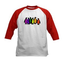 Gay Pride Rainbow Penguins Tee