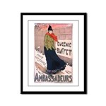 Ambassadeurs Framed Panel Print