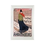 Ambassadeurs Rectangle Magnet (100 pack)
