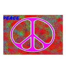 Psychedelic Peace Postcards (Package of 8)