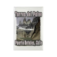 Torres del Paine Rectangle Magnet (10 pack)