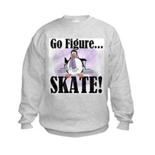 Penguin Figure Skating Sweatshirt