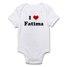 I Love Fatima Infant Bodysuit