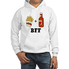 Ketchup & French Fries BFF Hooded Sweatshirt