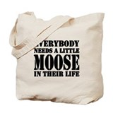 Unique Moose Tote Bag