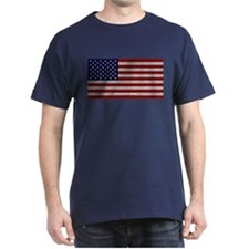 American Cloth Flag T-Shirt