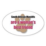 South African Mastiffs woman's best friend Decal