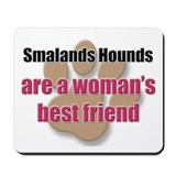 Smalands Hounds woman's best friend Mousepad