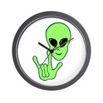 ILY Alien Wall Clock