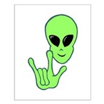 ILY Alien Small Poster