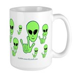 ILY Alien Large Mug