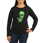 ILY Alien Women's Long Sleeve Dark T-Shirt