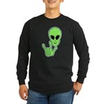 ILY Alien Long Sleeve Dark T-Shirt