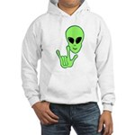 ILY Alien Hooded Sweatshirt
