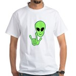 ILY Alien White T-Shirt