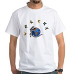 Gecko Friends White T-Shirt