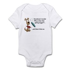 Flying Disc Infant Bodysuit