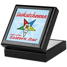 Saskachewan Eastern Star Keepsake Box
